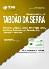 Apostila Câmara de Taboão da Serra SP - Auxiliar de Limpeza