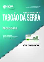Apostila Câmara de Taboão da Serra SP - Motorista