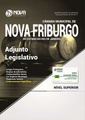 Apostila Câmara Municipal de Nova Friburgo - RJ - Adjunto Legislativo