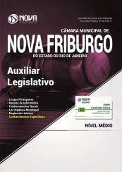 Apostila Câmara Municipal de Nova Friburgo - RJ - Auxiliar Legislativo