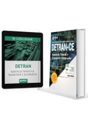 Combo - DETRAN CE 2017 - Apostila Agente de Trânsito e Transporte e Vistoriador + Curso Online