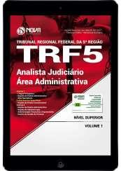 Download Apostila TRF 5 PDF - Analista Judiciário - Área Administrativa