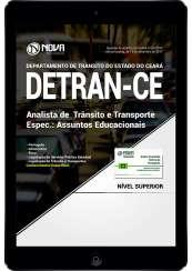 Download Apostila DETRAN-CE PDF - Analista de Trânsito e Transporte – Espec. Assuntos Educacionais
