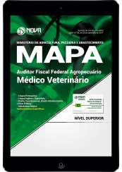 Download Apostila MAPA PDF - Auditor Fiscal Federal Agropecuário - Médico Veterinário