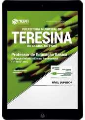 Download Apostila Prefeitura de Teresina-PI PDF - Professor de Educação Básica