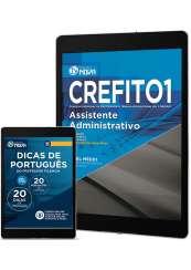 Download Apostila CREFITO 1ª REGIÃO Pdf - Assistente Administrativo
