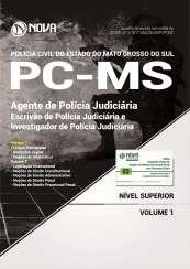 Apostila PC-MS - Agente de Polícia Judiciária (Escrivão e Investigador)