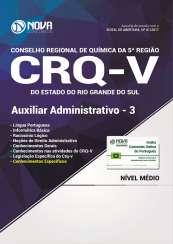 Apostila CRQ-V (5ª Região) - Auxiliar Administrativo 3