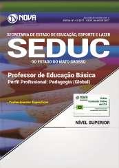 Apostila SEDUC-MT - Professor de Educação Básica: Pedagogo