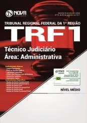 Apostila TRF 1ª Região 2017 - Técnico Judiciário - Área: Administrativa