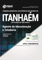 Apostila Câmara de Itanhaém - SP - Agente de Manutenção e Zeladoria