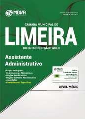 Apostila Câmara de Limeira - SP - Assistente Administrativo