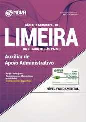 Apostila Câmara de Limeira - SP - Auxiliar de Apoio Administrativo