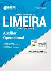 Apostila Câmara de Limeira - SP - Auxiliar Operacional