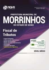 Apostila Prefeitura de Morrinhos - GO - Fiscal de Tributos