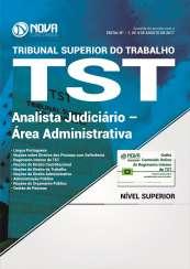 Apostila TST - Analista Judiciário – Área Administrativa