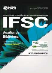 Apostila IFSC - Auxiliar de Biblioteca