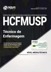 Apostila Hospital das Clínicas (HCFMU) SP 2017- Técnico de Enfermagem