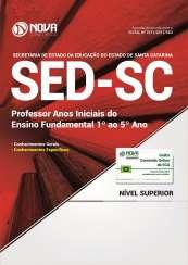 Apostila SED-SC - Professor: Anos Iniciais do Ensino Fundamental (1º ao 5º Ano)