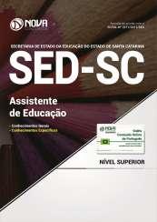 Apostila SED-SC - Assistente de Educação
