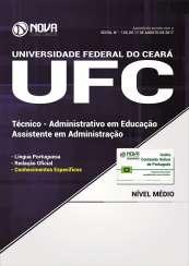 Apostila UFC (Universidade do Ceará) - Assistente em Administração