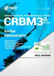 Apostila CRBM 3ª Região - Auxiliar Administrativo