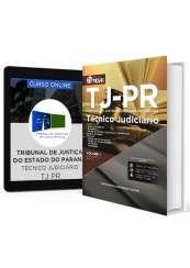 Combo TJ - PR - Técnico Judiciário + Curso Online