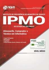 Apostila IPMO-SP - Almoxarife, Comprador e Técnico em Informática