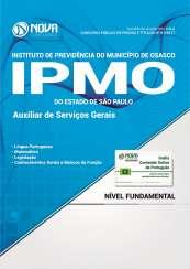 Apostila IPMO-SP - Auxiliar de Serviços Gerais