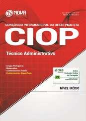 Apostila CIOP-SP - Técnico Administrativo