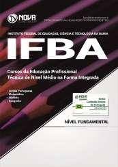 Apostila IFBA - Cursos da Educação Profissional - Técnica de Nível Médio na Forma Integrada