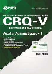 Apostila CRQ-V (5ª Região) - Auxiliar Administrativo 1