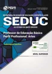 Apostila SEDUC-MT - Professor de Educação Básica: Arte