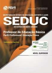 Apostila SEDUC-MT - Professor de Educação Básica: Educação Física