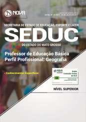 Apostila SEDUC-MT - Professor de Educação Básica - Geografia