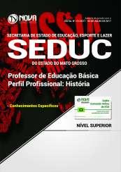Apostila SEDUC-MT - Professor de Educação Básica: História