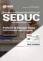 Apostila SEDUC-MT - Professor de Educação Básica: Língua Portuguesa
