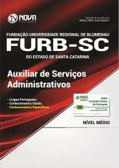 Apostila FURB-SC - Auxiliar de Serviços Administrativos
