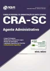 Apostila CRA-SC - Agente Administrativo