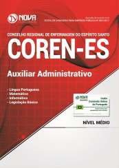 Apostila COREN-ES - Auxiliar Administrativo
