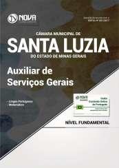 Apostila Câmara de Santa Luzia - MG - Auxiliar de Serviços Gerais