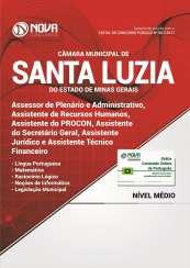 Apostila Câmara de Santa Luzia-MG - Comum a Todos os Cargos