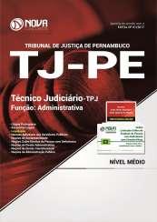 Apostila TJ-PE - Técnico Judiciário - TPJ / Função Administrativa