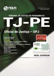 Apostila TJ-PE - Oficial de Justiça - OPJ