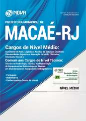 Apostila Prefeitura de Macaé-RJ - Cargos de Nível Médio e Técnico