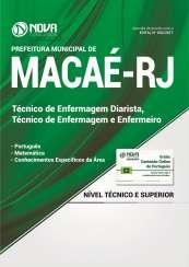 Apostila Pref. de Macaé-RJ - Enfermeiro e Técnico em Enfermagem