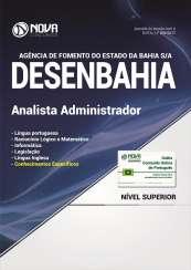Apostila DESENBAHIA - BA - Analista Administrador