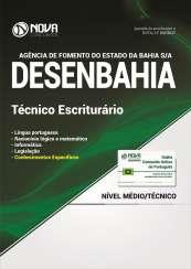 Apostila DESENBAHIA - BA - Técnico Escriturário