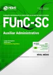 Apostila FUnC-SC - Auxiliar Administrativo