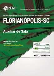Apostila Prefeitura de Florianópolis - SC - Auxiliar de Sala